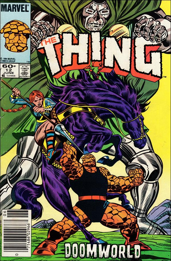 Thing (1983) 12-A by Marvel