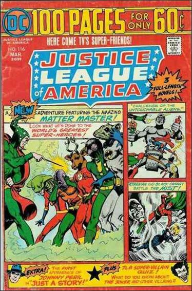 Justice League of America (1960) 116-A by DC