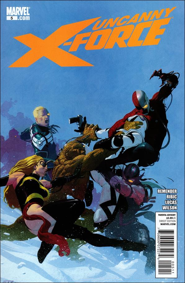 Uncanny X-Force (2010) 5-A by Marvel