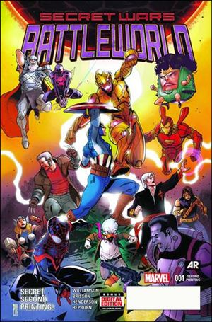 Secret Wars: Battleworld 1-E