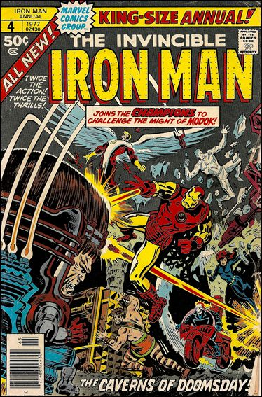 Iron Man Annual 4-A by Marvel