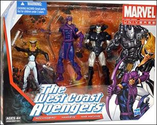 Marvel Universe (3-Packs) West Coast Avengers 3-Pack