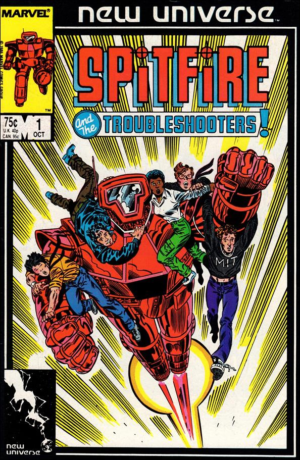 Spitfire and the Troubleshooters 1-A by Marvel