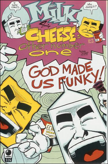 Milk & Cheese 2-D by Slave Labor Graphics (SLG) Publishing