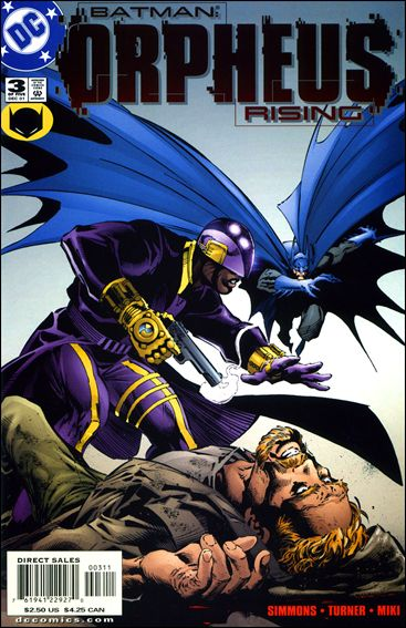 Batman: Orpheus Rising 3-A by DC