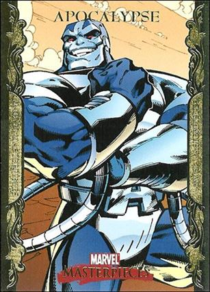 2007 Marvel Masterpieces (Parallel Gold Border Base Set) 4-A