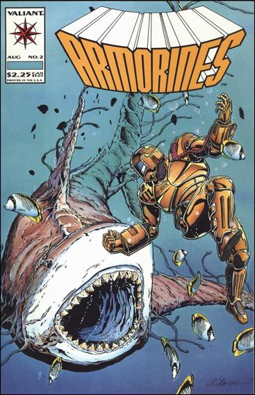 Armorines (1993) 2-A by Valiant