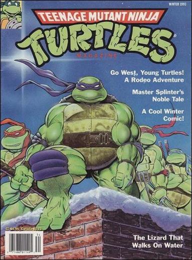 Teenage Mutant Ninja Turtles Magazine 13-A by Welsh Publishing Group
