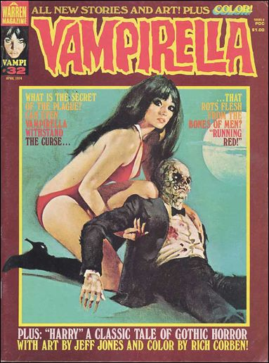 Vampirella 32-A by Warren