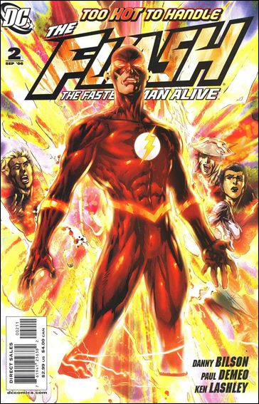Flash: The Fastest Man Alive 2-A by DC