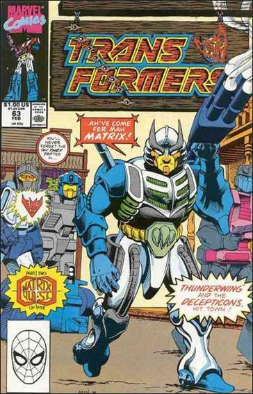 Transformers (1984) 63-A by Marvel