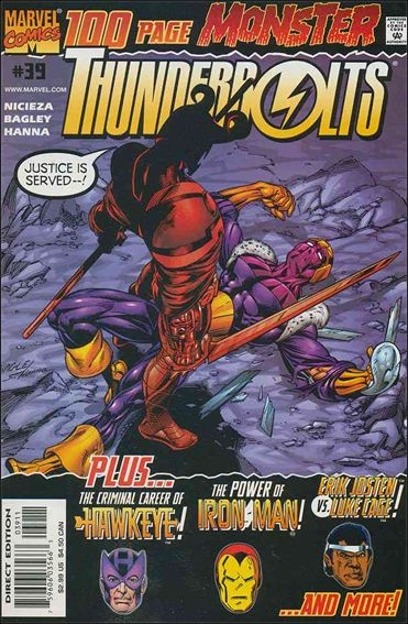 Thunderbolts (1997) 39-A by Marvel