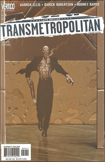 Transmetropolitan 50-A by Vertigo