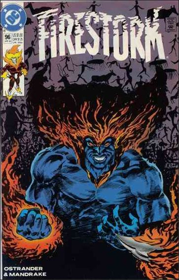 Firestorm The Nuclear Man (1987) 96-A by DC