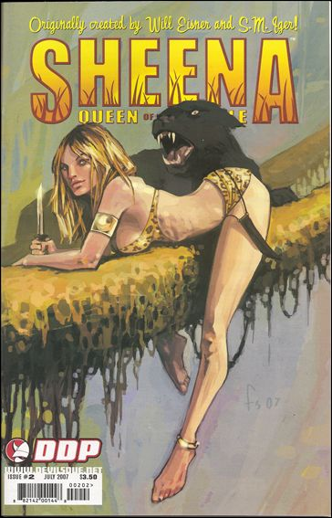 Sheena, Queen of the Jungle (2007) 2-C by Devil's Due