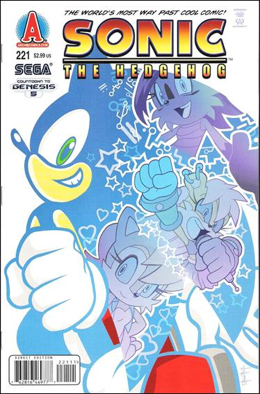 Sonic the Hedgehog (1993) 221-A by Archie