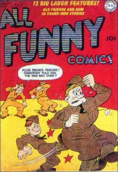 All Funny Comics 3-A by DC