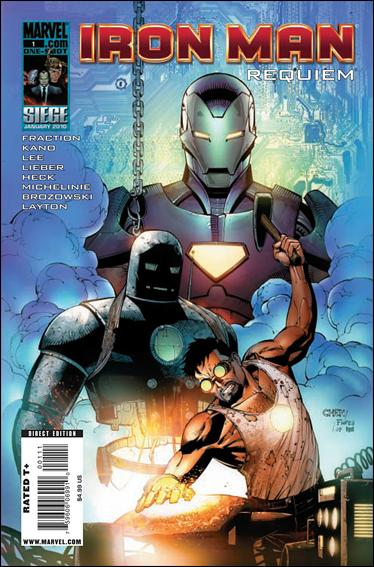 Iron Man: Requiem 1-A by Marvel