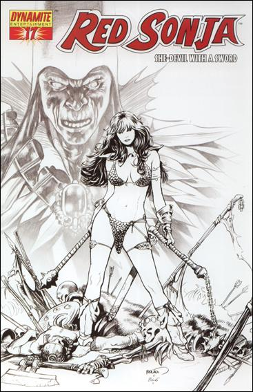 Red Sonja (2005) 17-E by Dynamite Entertainment