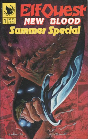 Elfquest: New Blood Summer Special Invalid-A by Warp Graphics