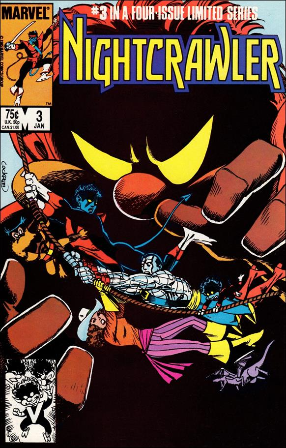 Nightcrawler (1985) 3-A by Marvel