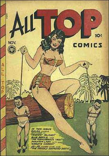 All Top Comics (1946) 8-A by Fox