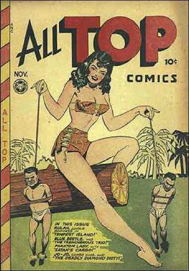 All Top Comics (1946) 8-A by Fox