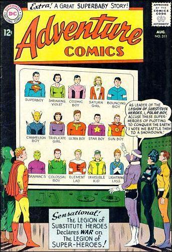 Adventure Comics (1938) 311-A by DC