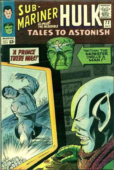 Tales to Astonish (1959) 72-A by Marvel