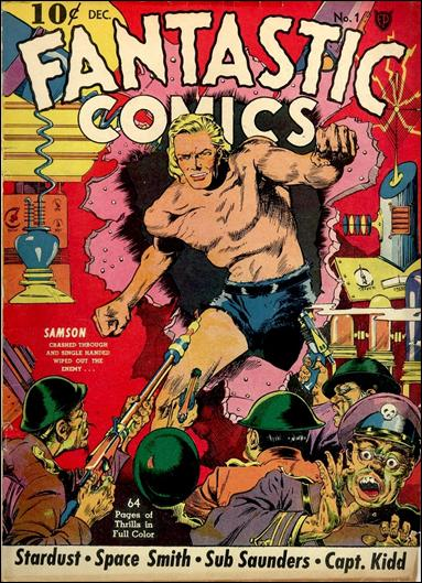 Fantastic Comics (1939) 1-A by Fox