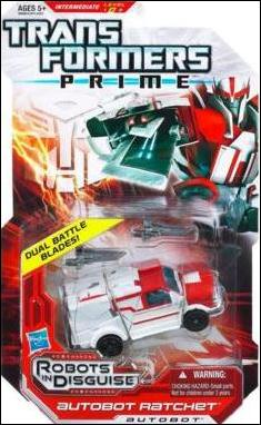 Transformers Prime (Deluxe Class) Ratchet by Hasbro