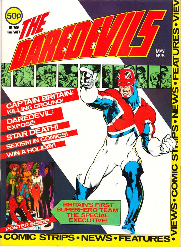 Daredevils (UK) 5-A by Marvel UK