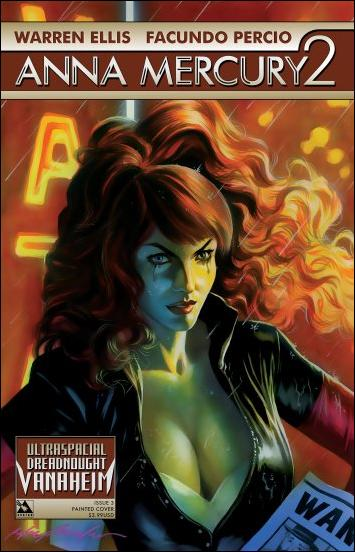 Anna Mercury 2 3-C by Avatar Press