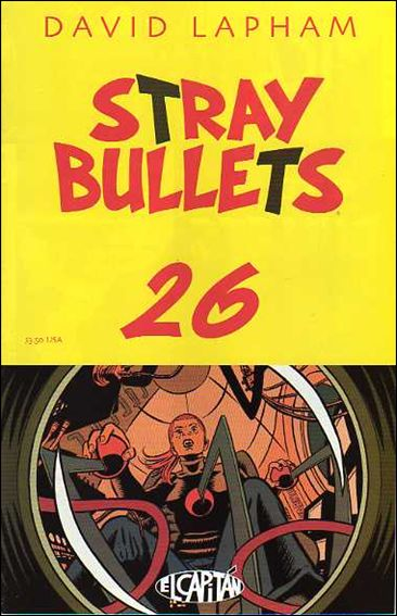Stray Bullets 26-A by El Capitan