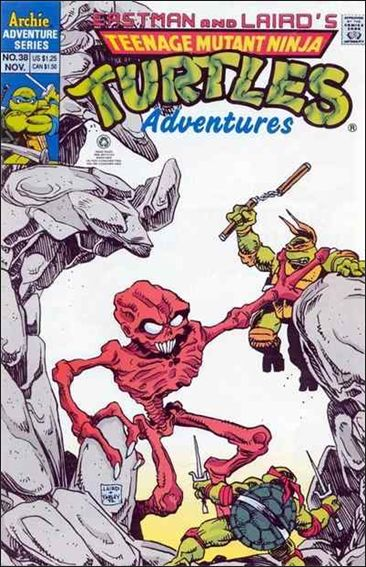 Teenage Mutant Ninja Turtles Adventures (1989) 38-A by Archie