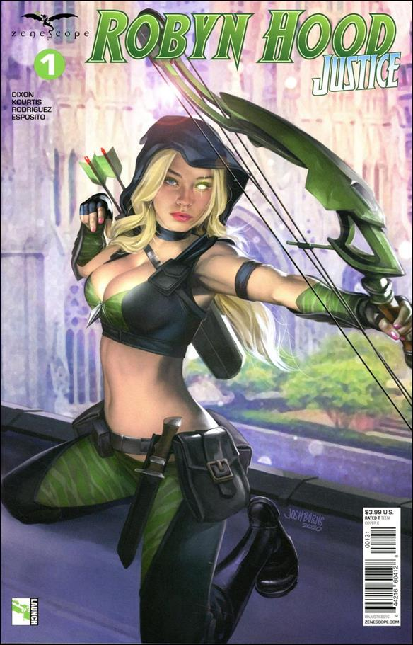 Robyn Hood: Justice 1-C by Zenescope Entertainment