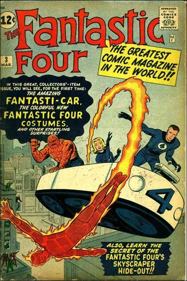 Fantastic Four (1961) 3-A by Marvel