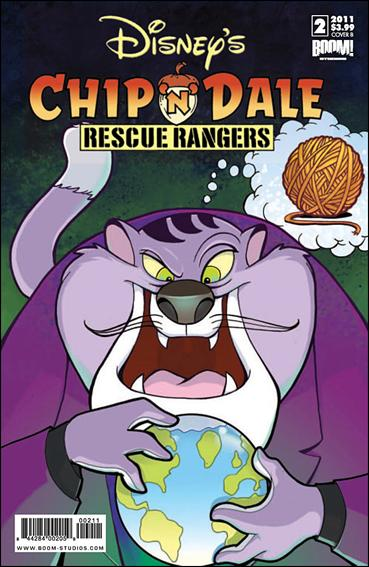 Chip 'n' Dale Rescue Rangers (2010) 2-B by Kaboom!