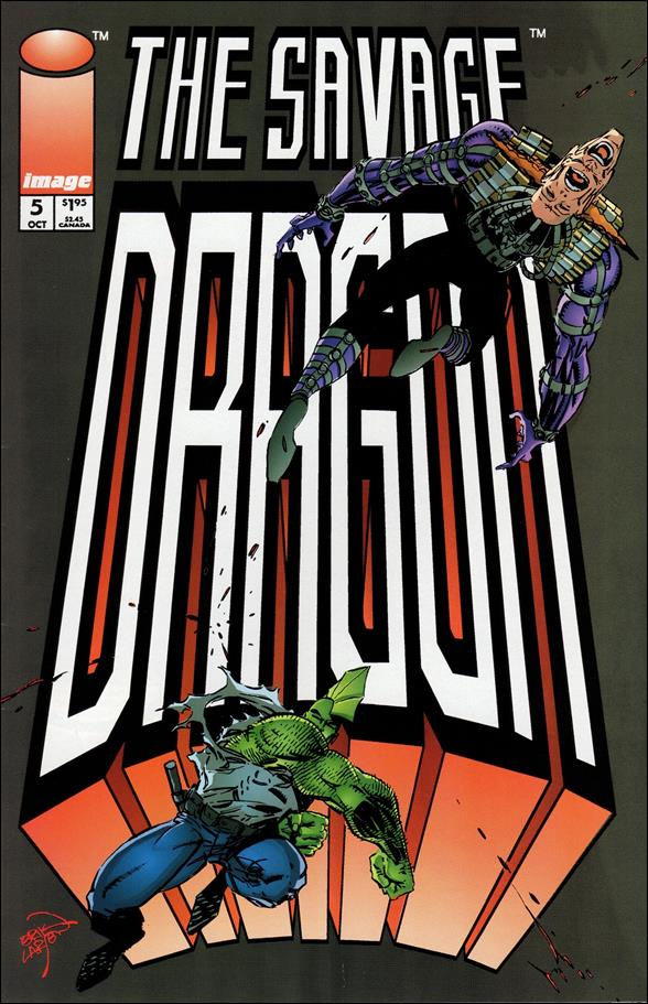 Savage Dragon (1993) 5-A by Image