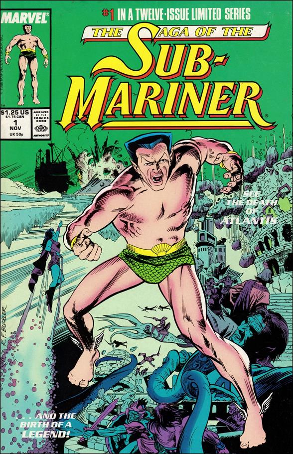 Saga of the Sub-Mariner 1-A by Marvel