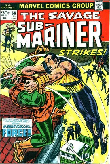Sub-Mariner (1968) 68-A by Marvel
