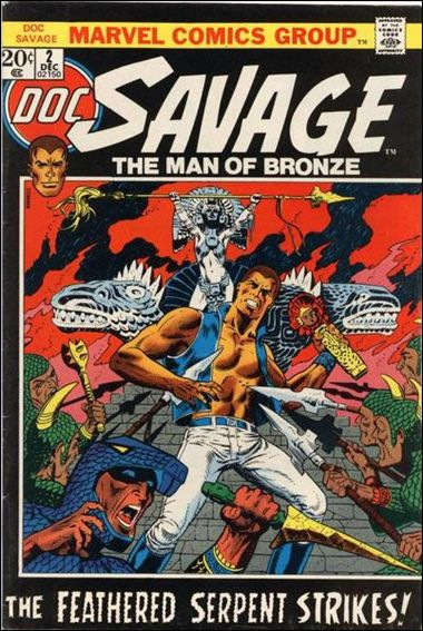 Doc Savage (1972) 2-A by Marvel