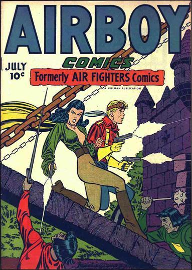 Airboy Comics (1946) 6-A by Hillman