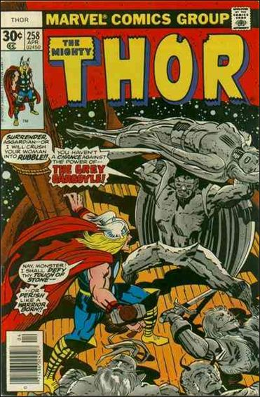 Thor (1966) 258-A by Marvel