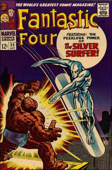 Fantastic Four (1961) 55-A by Marvel