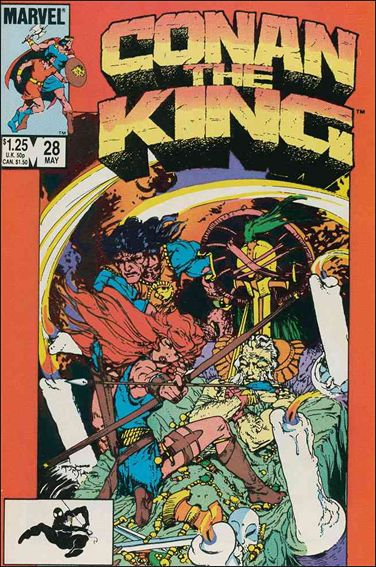 Conan the King 28-A by Marvel