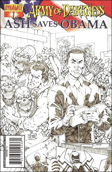 Army of Darkness: Ash Saves Obama 1-C by Dynamite Entertainment