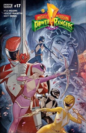 Mighty Morphin Power Rangers 17-C