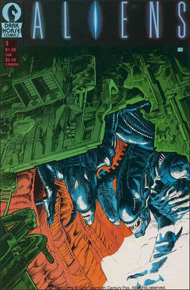 Aliens (1988) 3-A by Dark Horse