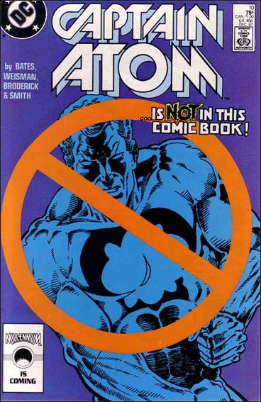 Captain Atom (1987) 10-A by DC